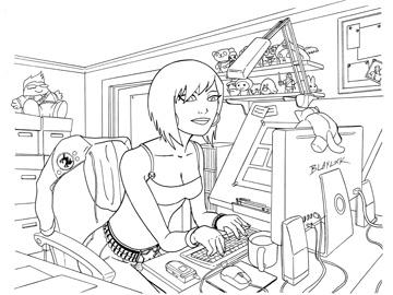 Desk_girl